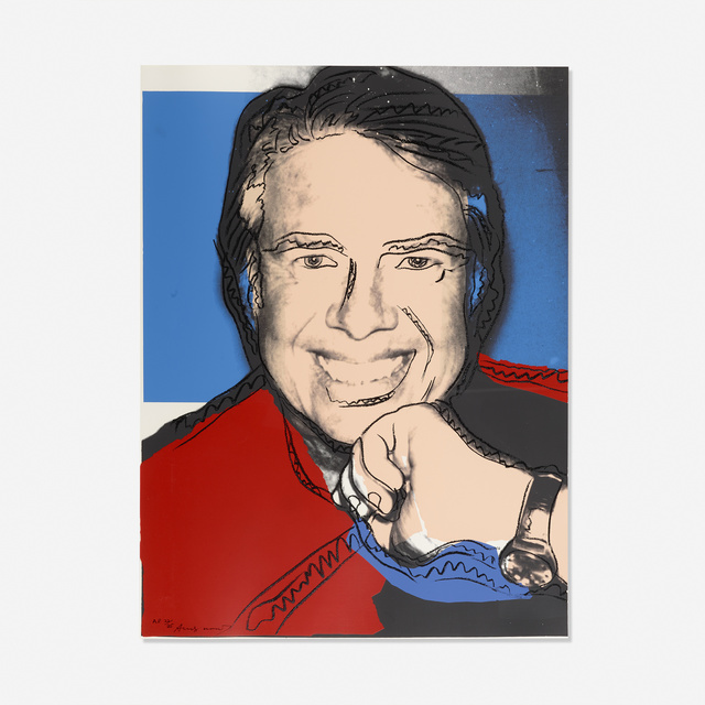 Andy Warhol, 'Jimmy Carter II', 1977, Rago