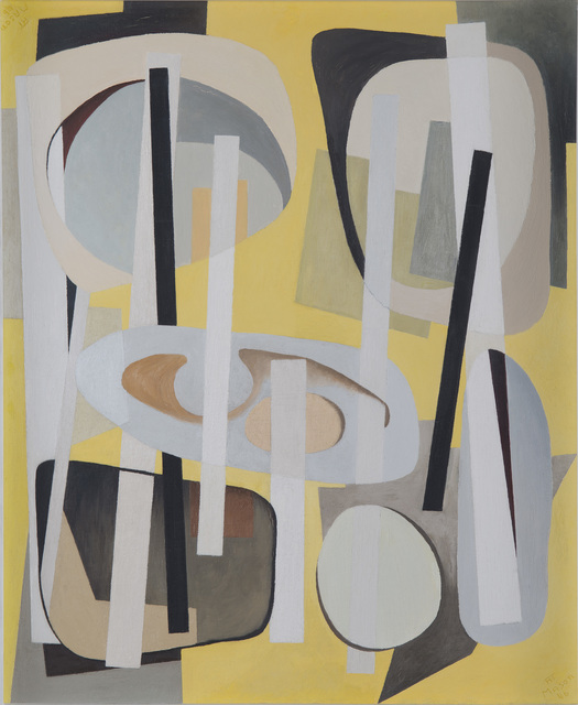 , 'Bearings Charted with Yellow,' 1946, Washburn Gallery