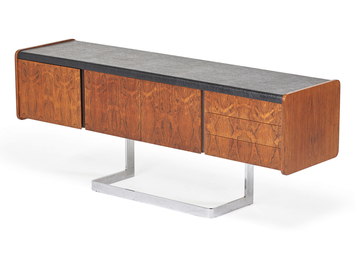 Ste-Marie & Laurent, Inc., Cantilevered Cabinet