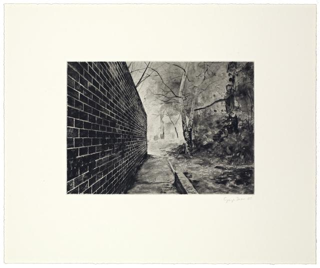 George Shaw, '12 Short Walks V', 2005, Reuben Colley Fine Art