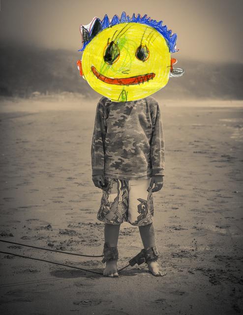 Liz Steketee, 'Nectar Collage: Beach Boy', 2014, Seager Gray Gallery