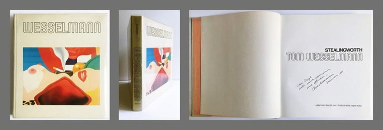 Tom Wesselmann (Hand Signed and Warmly Inscribed by Tom Wesselmann)