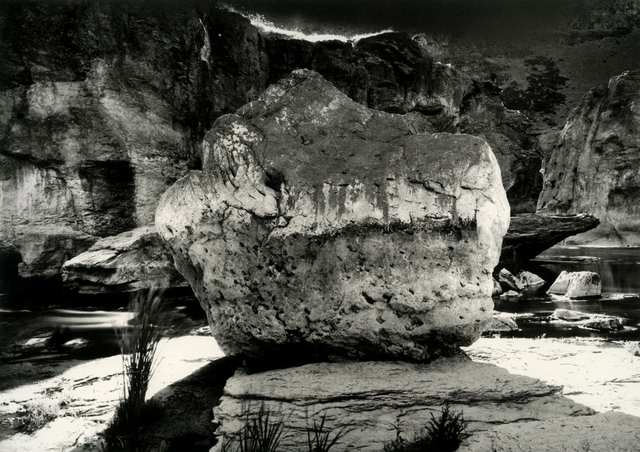 , 'High Noon - Blinding Light and Heat - Boulder and the Snake River - Pillar Falls Canyon, Twin Falls County,' 2003-2004, Ingleby Gallery
