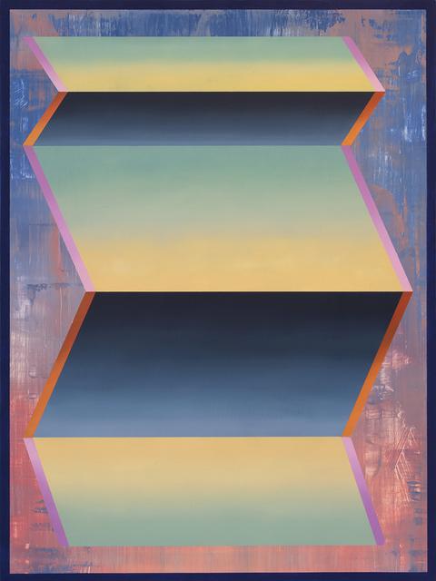 , 'Chartreuse Floater,' 2017, Tempe Digital