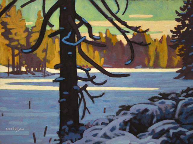 Clayton Anderson, 'Frozen Cedar', Madrona Gallery