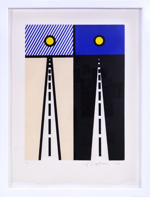 , 'Auto Poésie: en Cavale de Bloomington, from La Nouvelle Chute de l'Amérique,' 1992, Shapero Modern