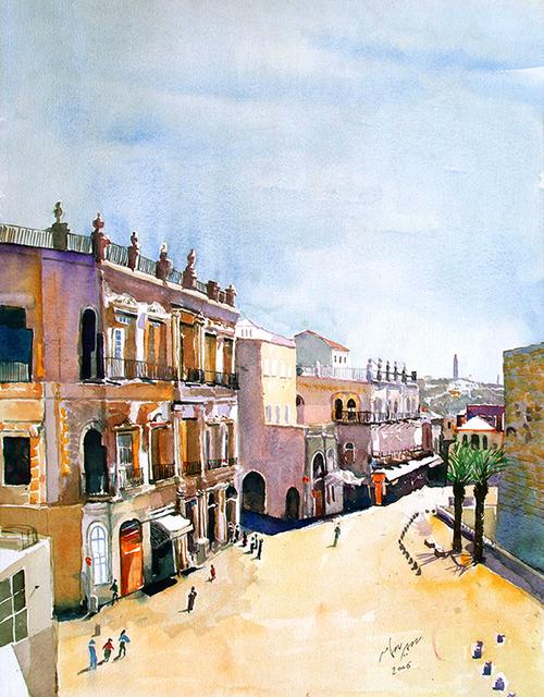 , 'Jerusalem,' 2006, Bab idDeir Art Gallery