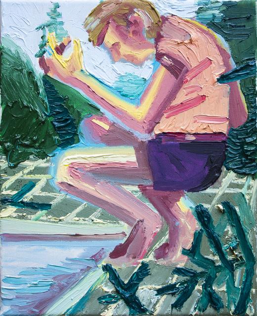 , 'Mirror,' 2018, Art+Text Budapest