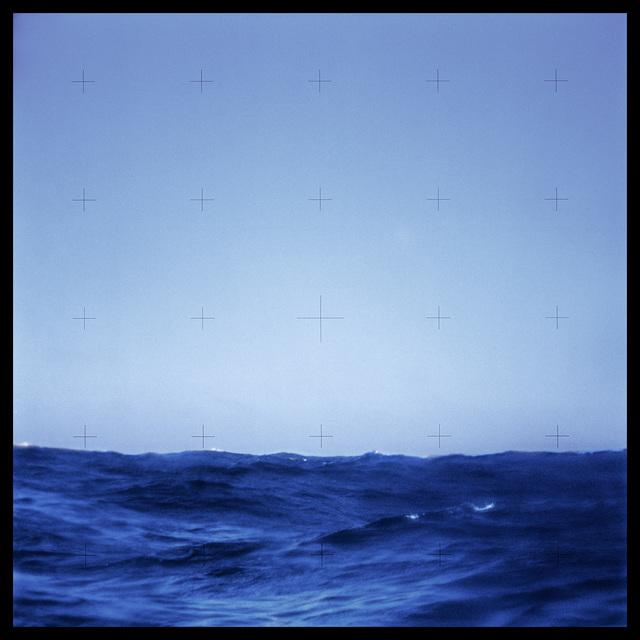 , '126 Pacific Ocean Seen Through Command Module Window After Splashdown;  Attributed to Alan Bean, Skylab 3, July 28-September 25, 1973,' 1999, Danziger Gallery