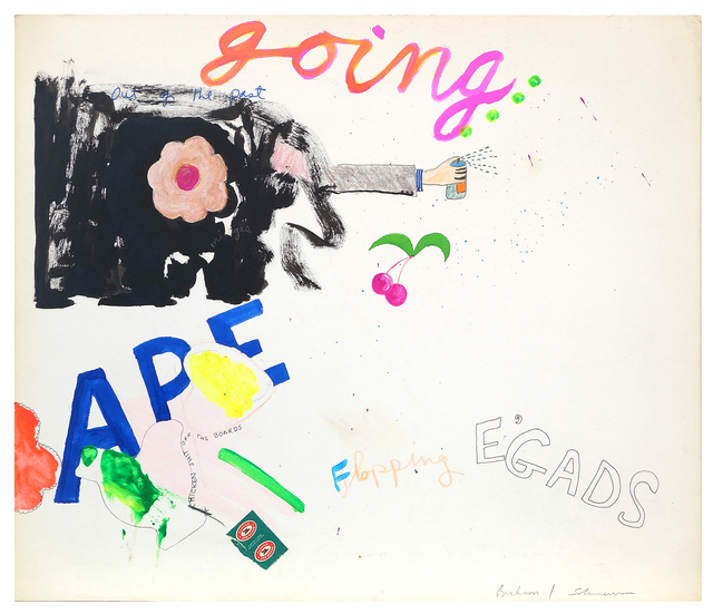 , 'Untitled (Going Ape),' ca. 1970, Pavel Zoubok Gallery