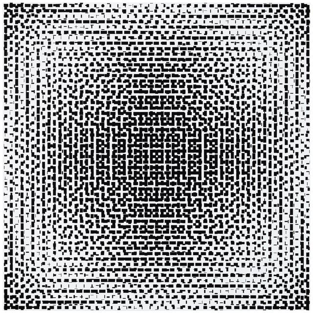 , 'black-white,' 2017, Galerie Denise René
