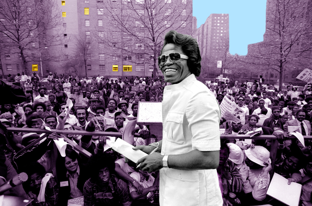 Richard E. Aaron, 'James Brown in Harlem - 1975 Colorized Photo on Hahnemuehle Paper', White Cross