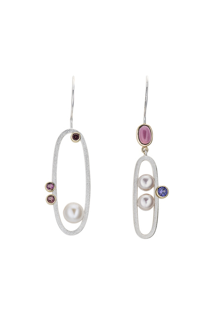 , 'Asymmetric Pearl Earrings,' ca. 2018, Facèré Jewelry Art Gallery