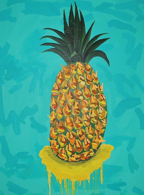 , 'La dulce piña,' 2014, ROBERTO PARADISE