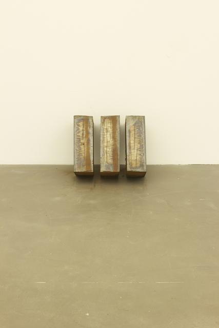 , 'Beuys' Razor (3 Part Invention),' 1989, Galerie Hans Mayer
