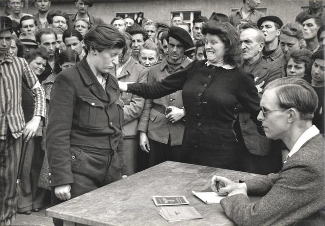 , 'Gestapo Informer Identified, Dessau, Germany,' 1945, Robert Klein Gallery
