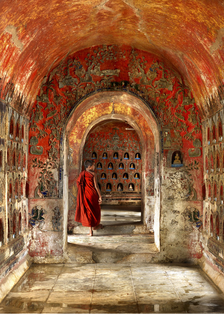, 'Through the Portal, Myanmar,' , Trinity House Paintings