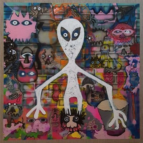 , 'I think I saw a ghost,' 2016-2017, Ro2 Art