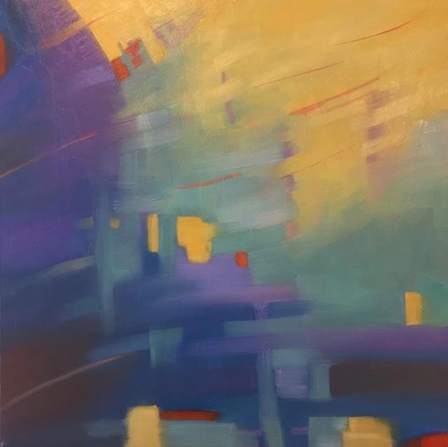 , 'Luminoso,' 2017, Fountain Street