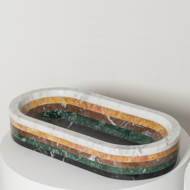 , 'Fragments 5 Layer Oval Bowl,' 2015, The Future Perfect