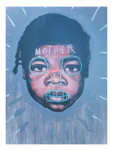 , 'Peach Baby Oprah, Mother of our Country,' 2018, Joseph Gross Gallery