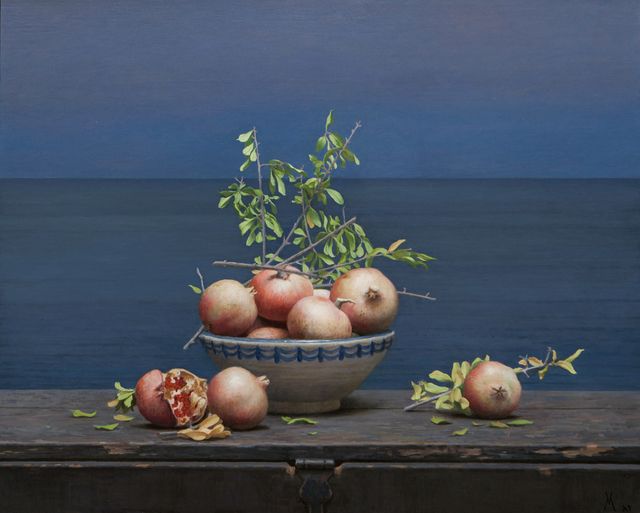 , 'The Alboran Sea and the Pomegranates,' 2015, Forum Gallery