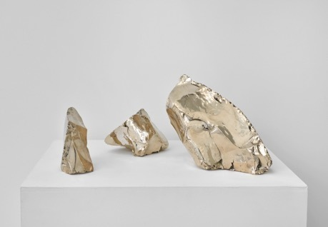 , 'Bronze Chunks,' 2016, Galerie Mitterrand