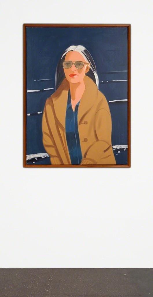 Alex KATZ  Ada in the Sun, 1994  Oil on canvas  36 x 22 3/8 inches