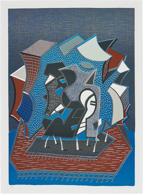 David Hockney, 'Tres (end of triple)', 1990, Phillips