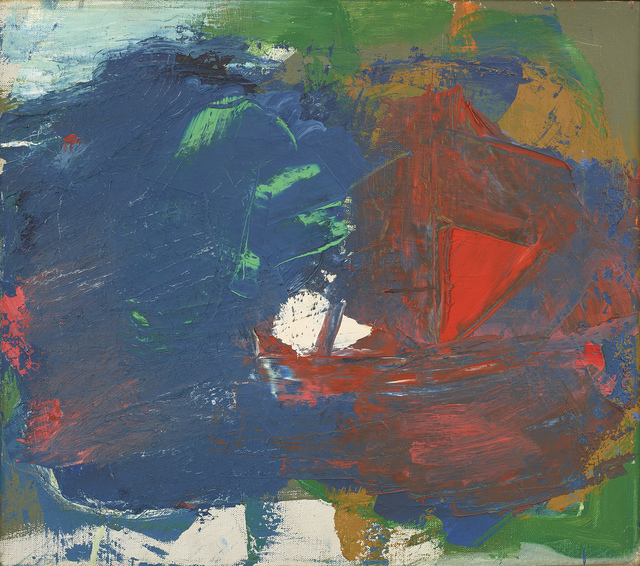 , 'Red Dice,' 1959, Berry Campbell Gallery