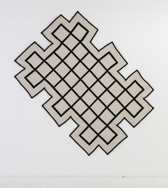 , 'Grid Rug,' 2015, Nina Johnson