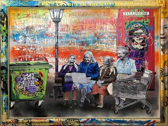Michael Waizman, 'Time Flies', 2018, Miss D Gallery