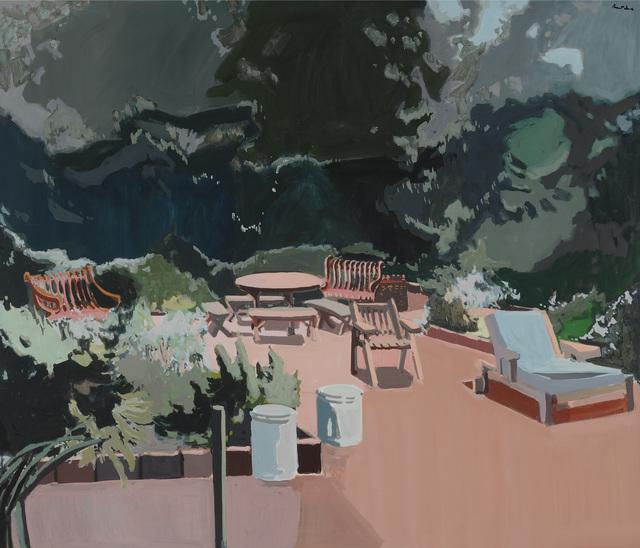 , 'The Terrace,' 1975, Parrish Art Museum