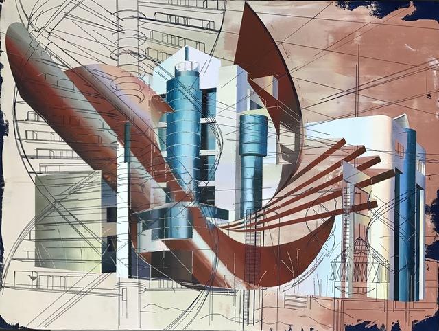 Cui Jie, 'Computer Building of Hubei Engineering University', 2018, Pilar Corrias Gallery