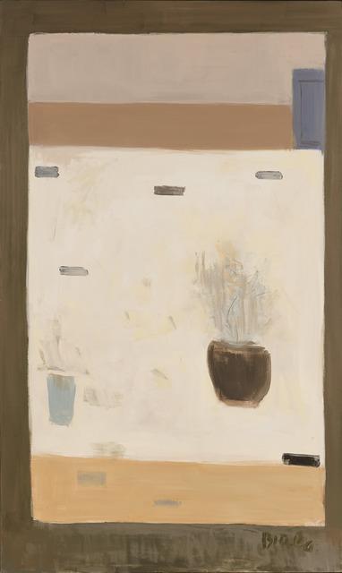 , 'Untitled (White Still Life with Flowers),' , Tibor de Nagy