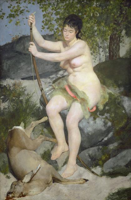 Pierre-Auguste Renoir, 'Diana', 1867, National Gallery of Art, Washington, D.C.