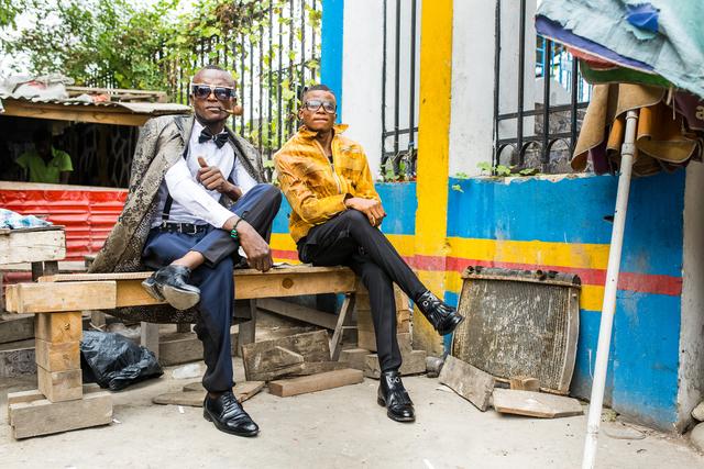 , 'Sapologie 3,' 2016, Africa Bomoko