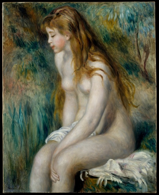 Pierre-Auguste Renoir, 'Young Girl Bathing', 1892, The Metropolitan Museum of Art