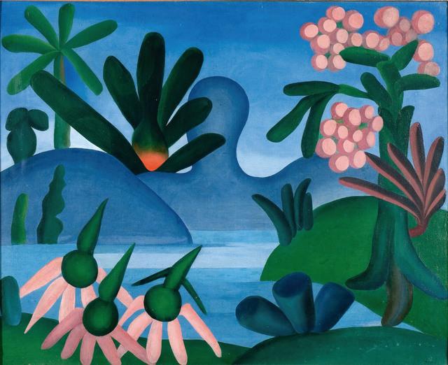 , 'O Lago,' 1928, MALBA