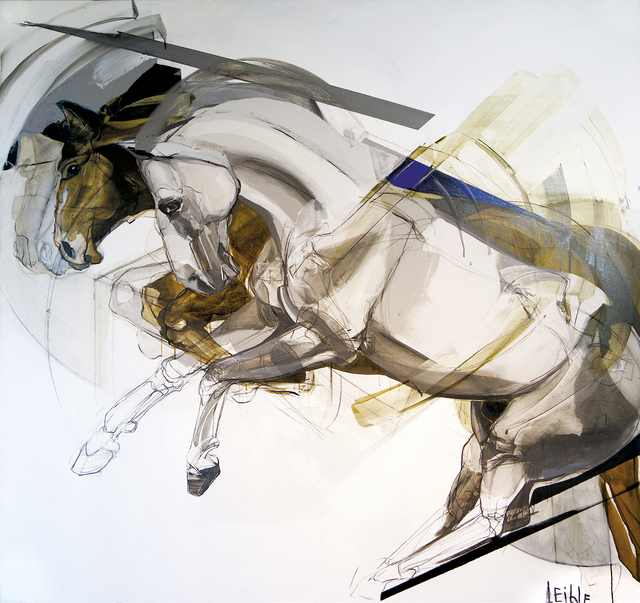 , 'Caballos Saltando,' 2015, Enlace Arte Contemporáneo
