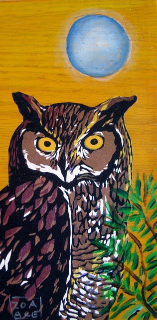 , 'Night Owl,' 2016, Abend Gallery