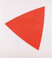 Ellsworth Kelly, Untitled (Red State II)