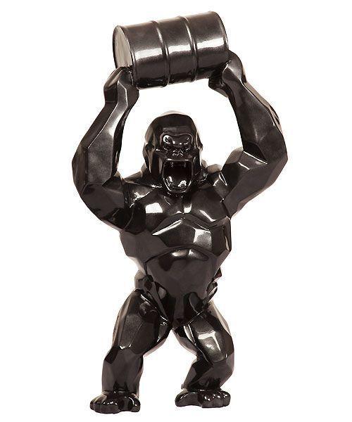 Richard Orlinski, 'Wild Kong Baril black mat', 2019, Galerie Perahia