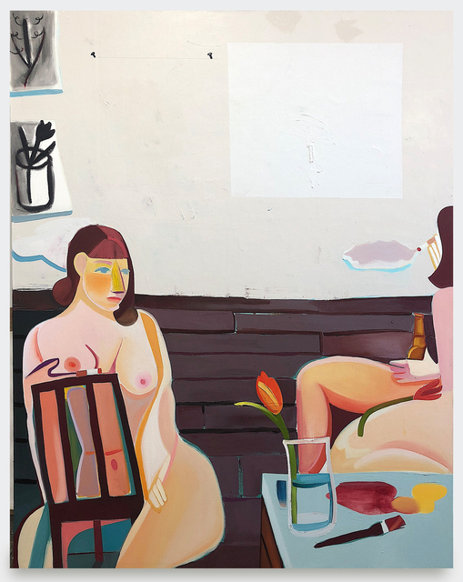 , 'Studio Visit,' 2018, V1 Gallery