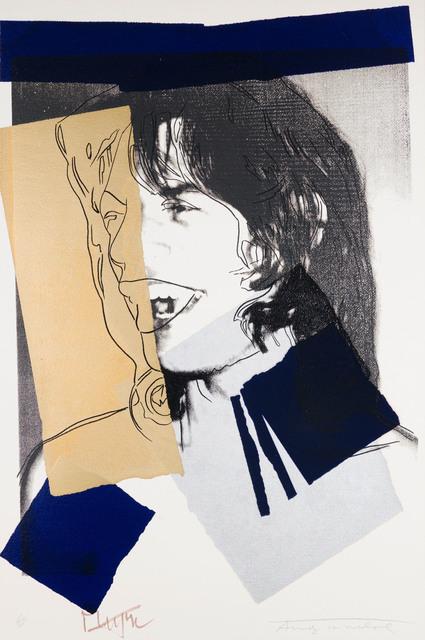 Andy Warhol, 'Mick Jagger F&S II.142', 1975, Print, Screenprint on Arches Aquarelle (Rough) Paper, Fine Art Mia