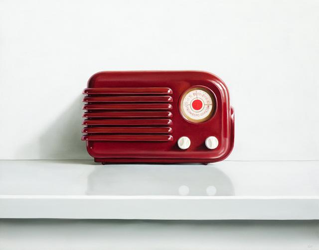 , 'Stromberg-Carlson Radio,' 2018, George Billis Gallery