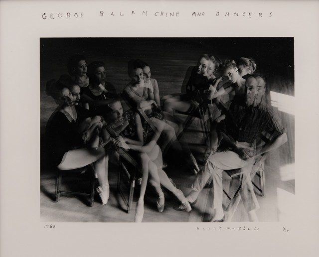 , 'George Balanchine and Dancers,' 1960, The Halsted Gallery
