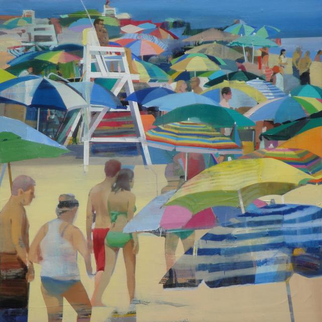 , 'Warm Day on the Beach #2,' 2018, Andrea Schwartz Gallery
