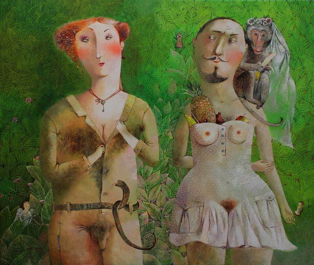 Anna Silivonchik, 'Forbidden Garden ', 2014, Think + Feel Contemporary