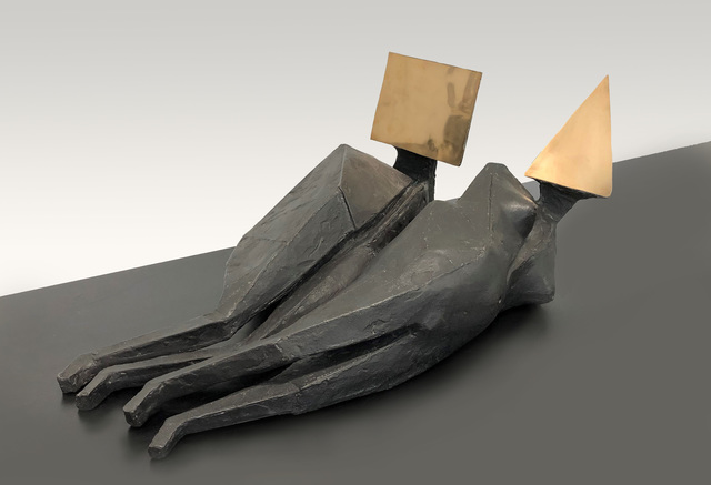 , 'Two Reclining Figures 643S,' 1974, SPONDER GALLERY